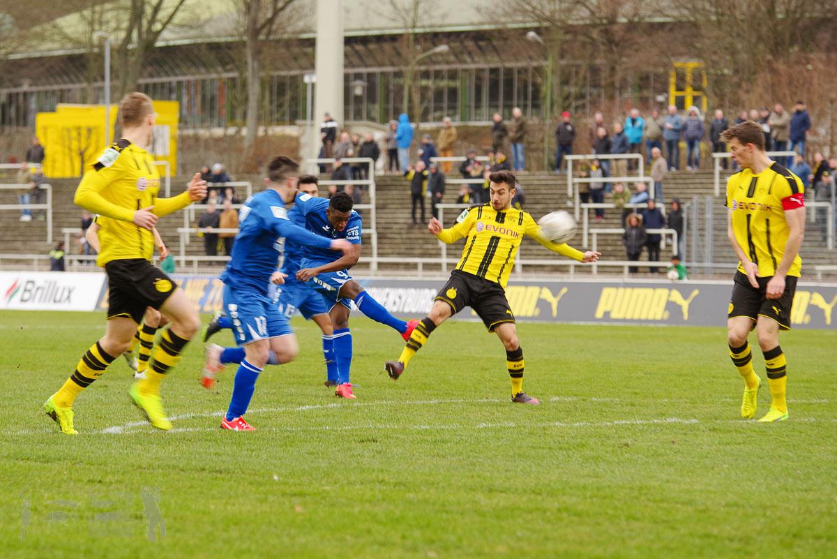 Regionalliga West 16-17 -- Borussia Dortmund U23 - TSG Sprockhövel 4:1