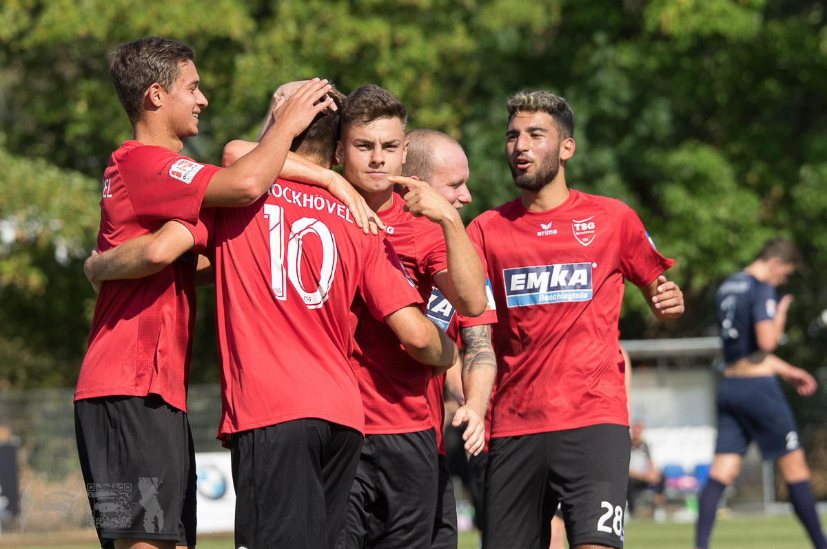 TSG Sprockhövel - FC Gütersloh 6:0, Oberliga Westfalen, Saison 2018/19