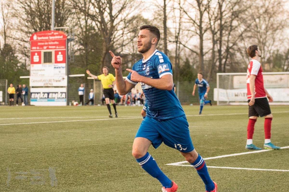 TSG Sprockhövel - TuS Ennepetal 3:1, Oberliga Westfalen, Saison 2018/19