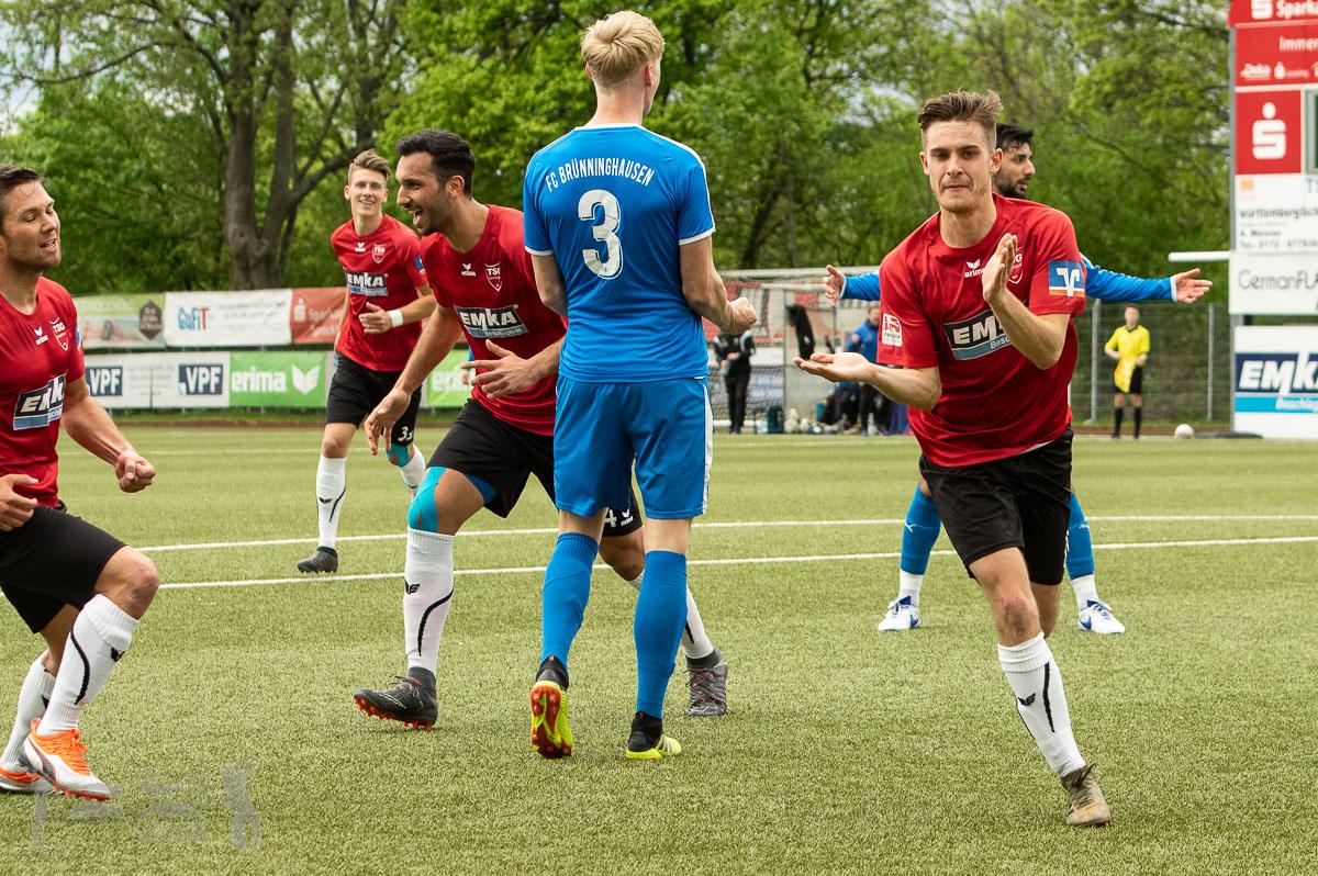 TSG Sprockhövel - FC Brünninghausen 2:2, Oberliga Westfalen, Saison 2018/19